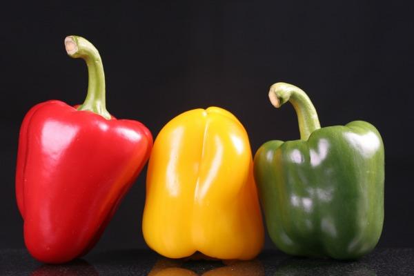 10 alimentos para emagrecer no inverno, pimentão