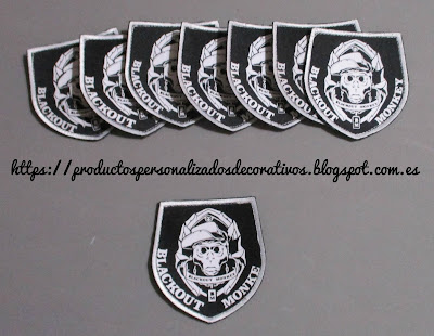 Parches Airsoft personalizados
