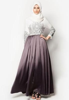 baju muslim atasan bawahan rok panjang