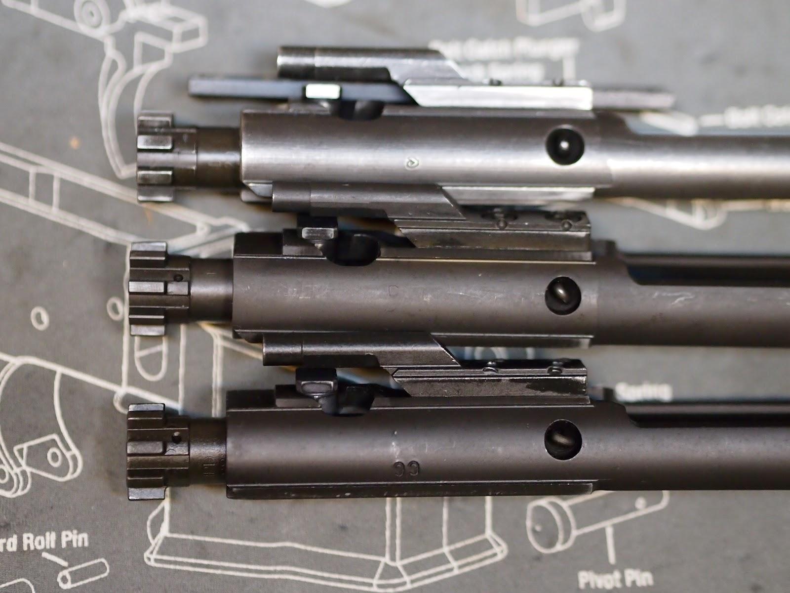 Mister Donut's Firearms Blog: Mk12 build - Diemaco BCG, Aero