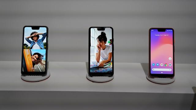 صوره لهواتف Pixel 3 و Pixel XL 3