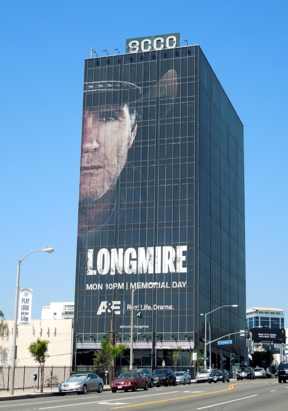 Longmire 2 billboard Sunset Boulevard