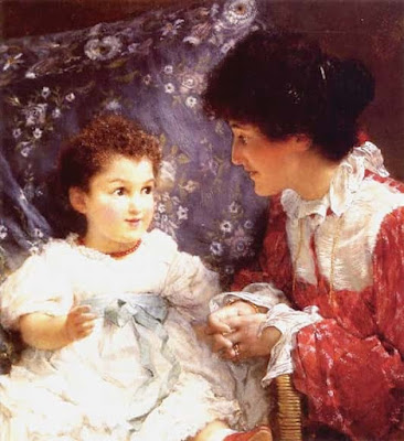 Mrs_Lewis_and_her_daughter_elizabeth_A.T. Lawrence 1899