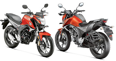 Honda CB Hornet 160R front & rear look