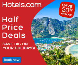 Hotels.com Malaysia Half Price Sale Deals