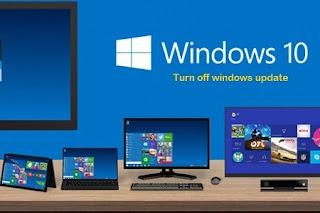 Cara Mudah Menonaktifkan/Disable Update Otomatis Pada Windows 10
