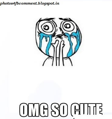 Comment With Emotion Face For Facebook Commentomg So Cute
