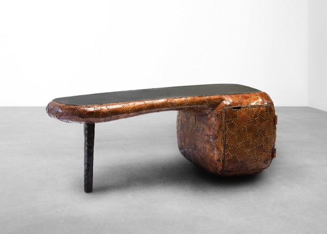 Новости дизайна. Мебель из металла от дизайнера Маартена Бааса