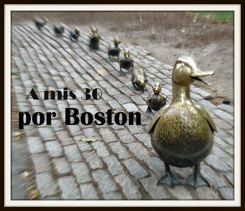 A mis 30 por Boston