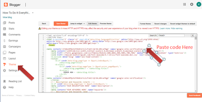 google webmaster submit your blog, blogsport