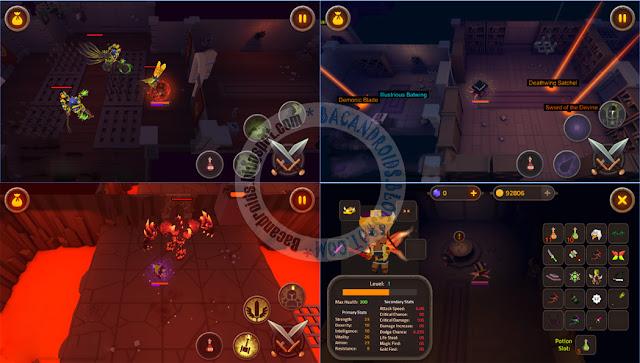 king of raids magic dungeons Apk Full Terbaru