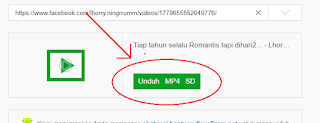 unduh video facebook di savefrom.net