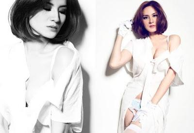 """Inilah Kisah """"chantal"""", Model Majalah Dewasa Yang Berfoto Hot"""