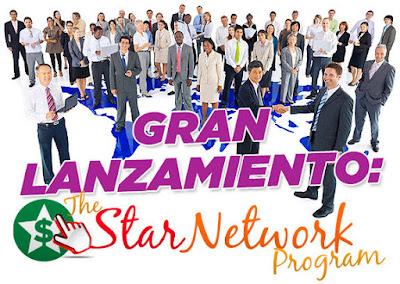 Hoy Lanzamiento de Star Network Program !