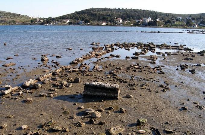 Σαλαμίνα: Εντοπίστηκε ο πολεμικός λιμένας συγκέντρωσης των πλοίων πριν τη Ναυμαχία
