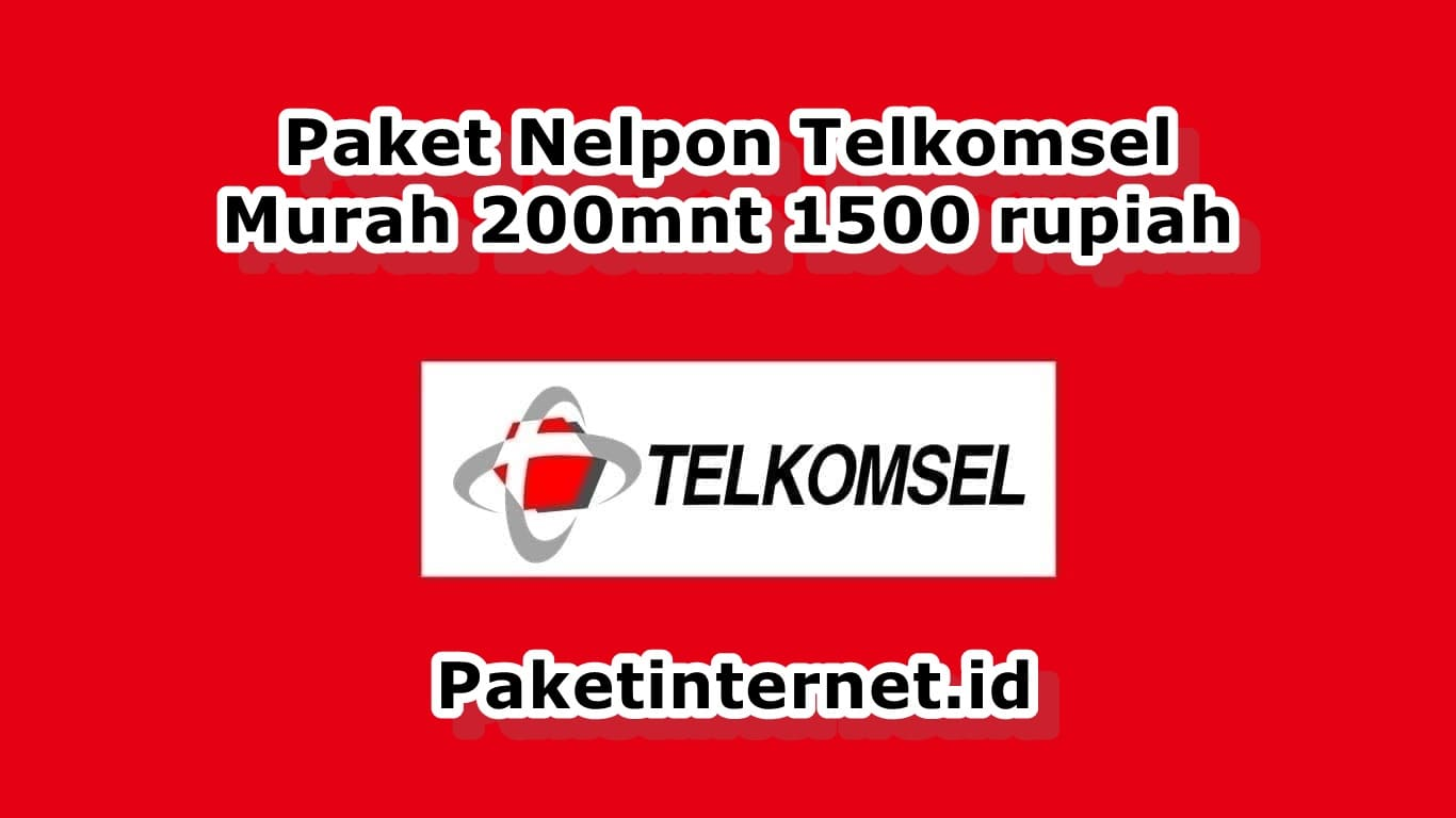 Paket Nelpon Telkomsel Murah