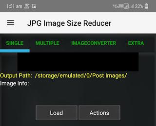 JPG Image Size Reducer app