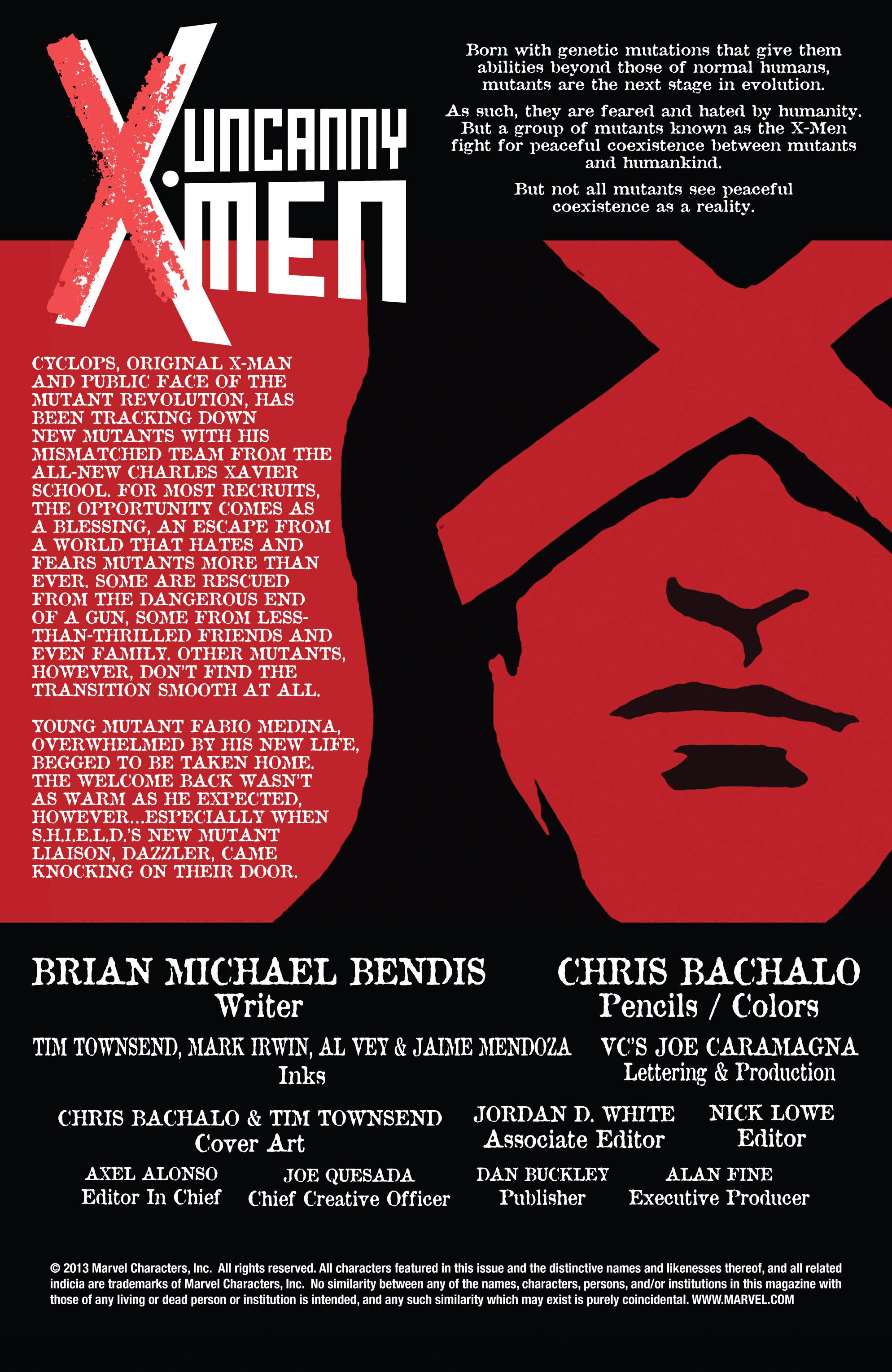 Read online Uncanny X-Men (2013) comic -  Issue # _TPB 2 - Broken - 62