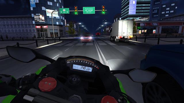 Traffic Rider MOD v1.4 Hack (Dinheiro Infinito) APK