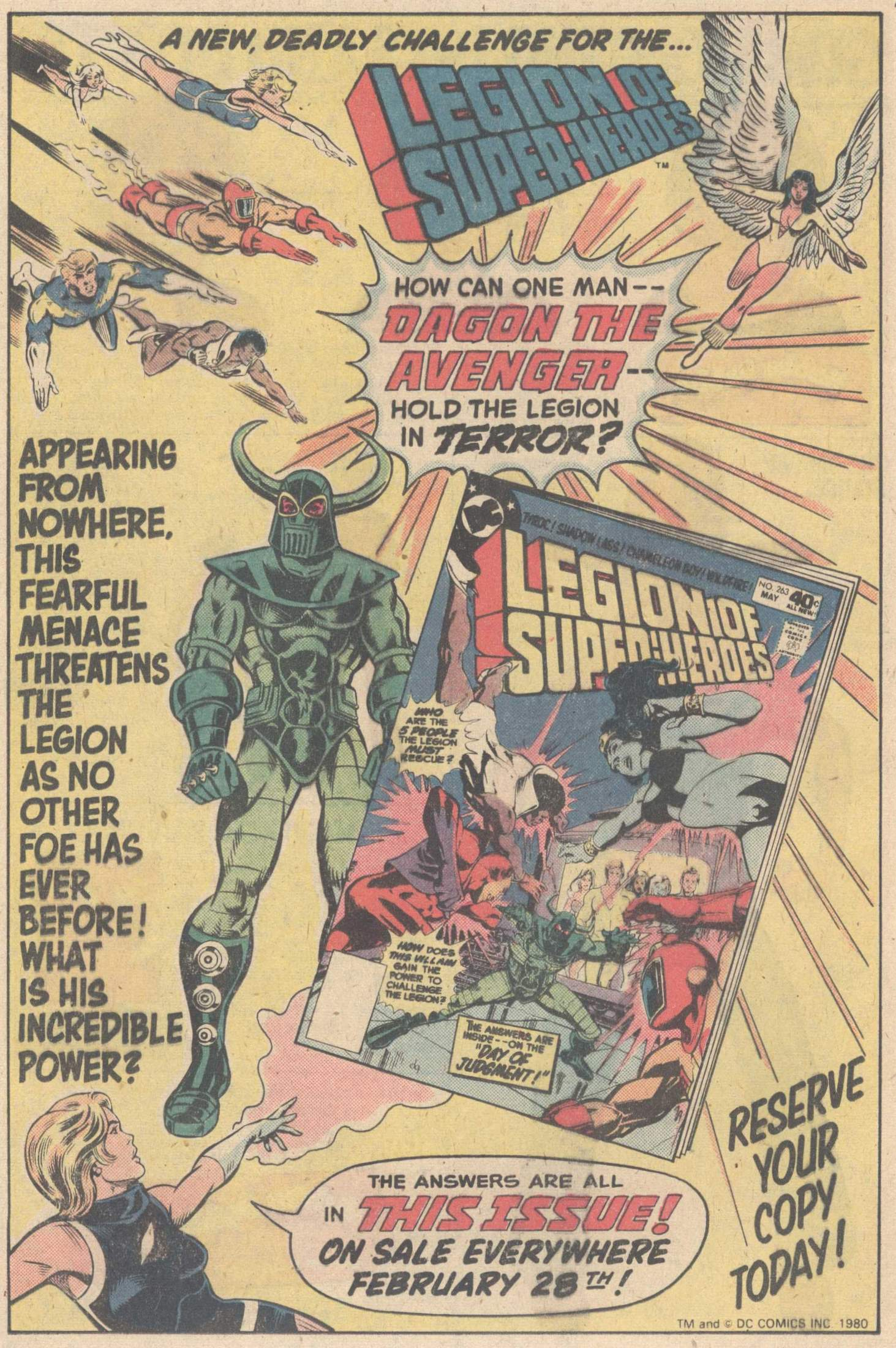 Legion of Super-Heroes (1980) 263 Page 23