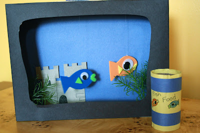 Cute fish tank craft lesson plans for Cute fish tanks