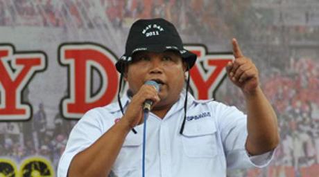 Tak Bela Arief Poyuono, Buruh Ancam Bakar KTA dan Bendera Gerindra di Jateng