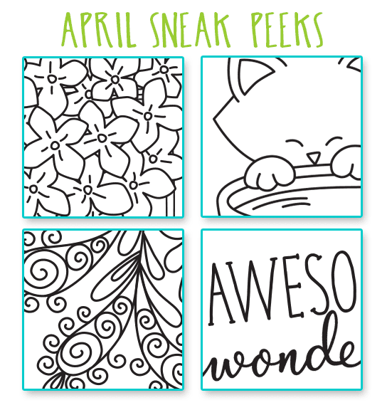 SNEAK PEEKS for April 2017 Release | Newton's Nook Designs #newtonsnook