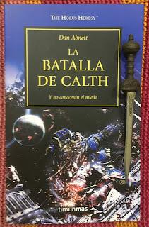 Portada del libro La batalla de Calth, de Dan Abnett