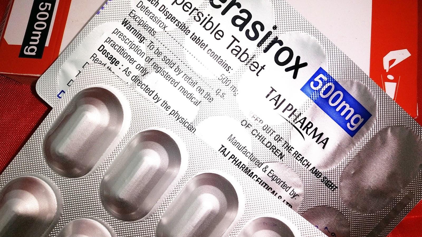 Deferasirox Indications Side Effects Warnings