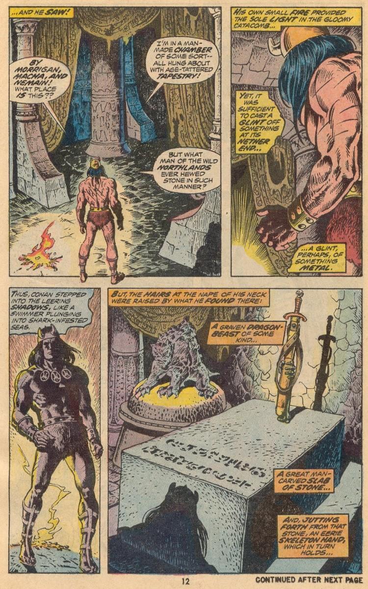 Conan the Barbarian (1970) 31 Page 9