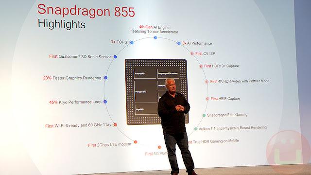 Fitur SoC Snapdragon 855