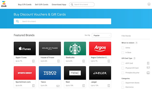 Now You Can Trade Gift Cards, With A Free £5 Credit For You To Try