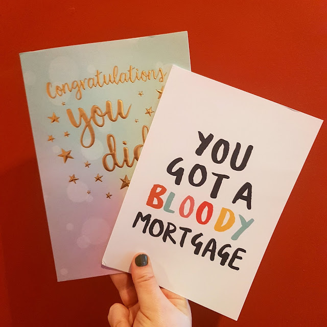 you got a bloody mortgage card