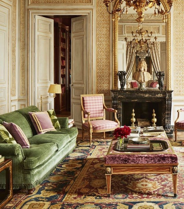 Paris Home Decor: Decor Inspiration : Katherine Bryan's Paris Apartment By