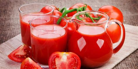 Benefits of tomato juice for health