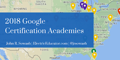 2018 Google Certification Academies