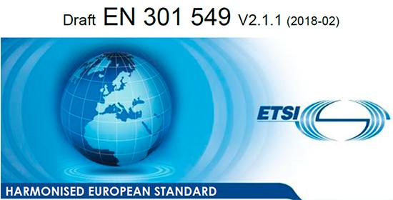 Draft EN 301 549 v 2.1.2 (2018-06) ETSI. Harmonised european standard