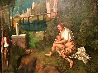 Giorgione s  La Vecchia  Gets a Facelift Before Traveling from Venice to the USA