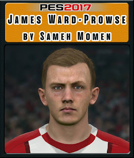 PES 2017 Faces James Ward-Prowse by Sameh Momen