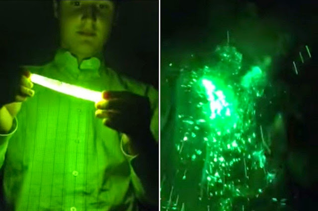 Watch What Happens When You Microwave A Glow Stick