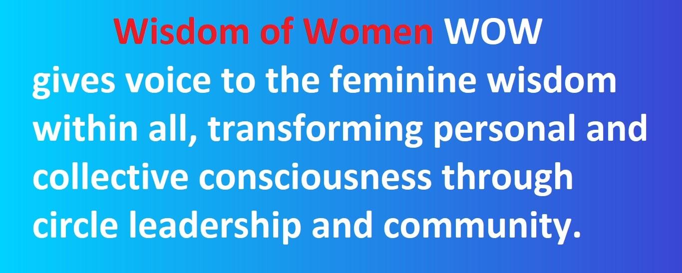 Wisdom of Women www.wisdomofwomen.club