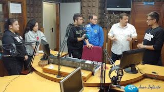 Nuestro primer programa de la temporada en los estudios de Hispanidad Radio.