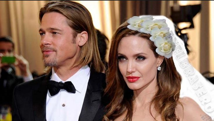 Angelina Jolie y Bratt Pitts matrimonio