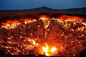 Close up of Door to Hell - Derweze