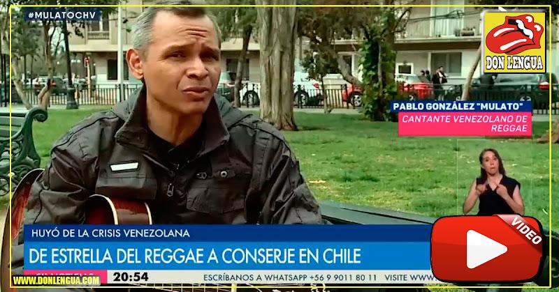 Gracias Maduro : El Rey del Reggae de Venezuela ahora es conserje en Chile