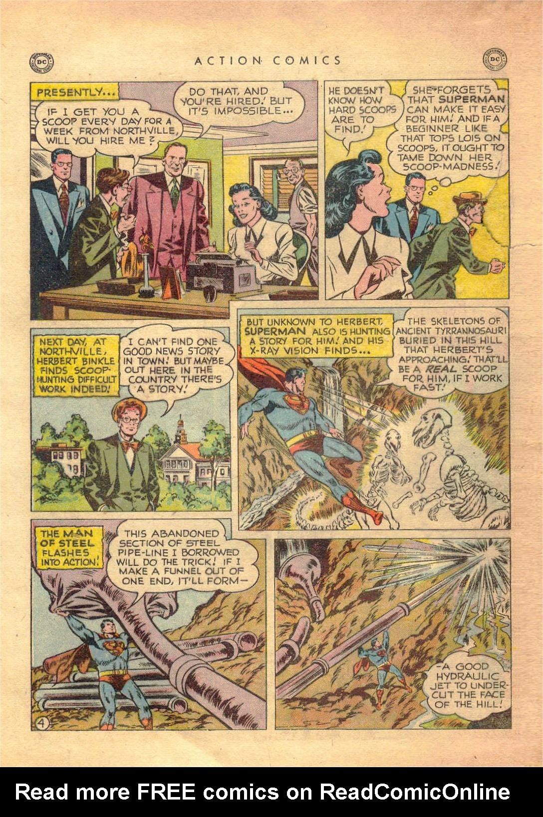 Read online Action Comics (1938) comic -  Issue #138 - 5