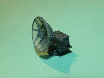 German Würzburg Riese Radar 1/144