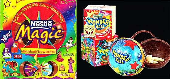 Nestle Magic chocolate balls