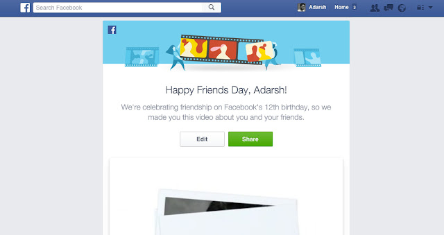 Facebook Celebrates Its 12th Birthday, Here's How To Make Your 'Friends Day' Video