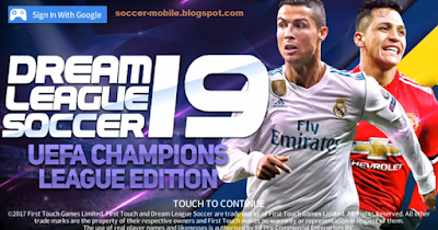 Download Dream League Soccer 2019 MOD UEFA Champions League